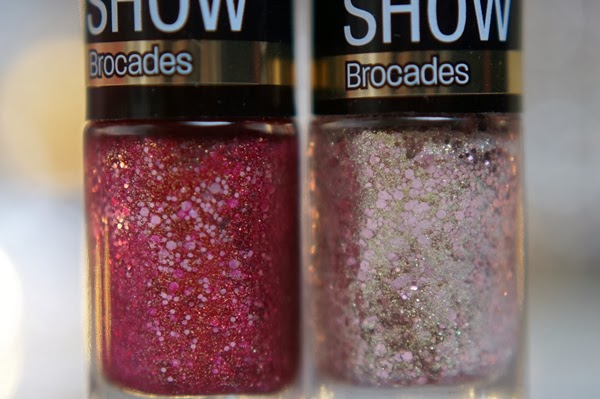 Maybelline Color Show Brocades swatches